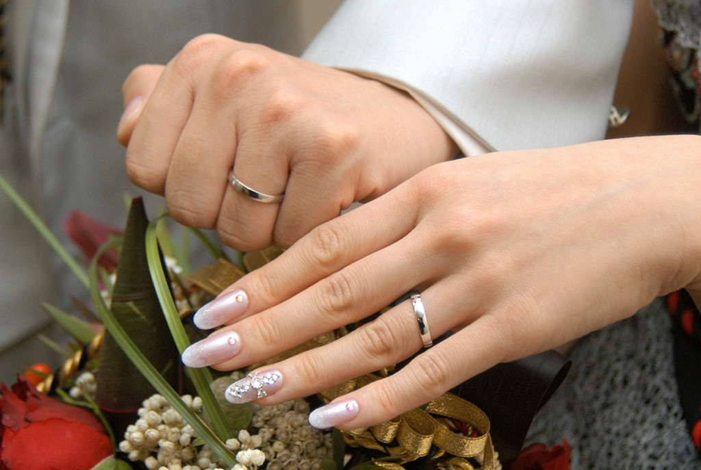 Свадебный френч с блестками