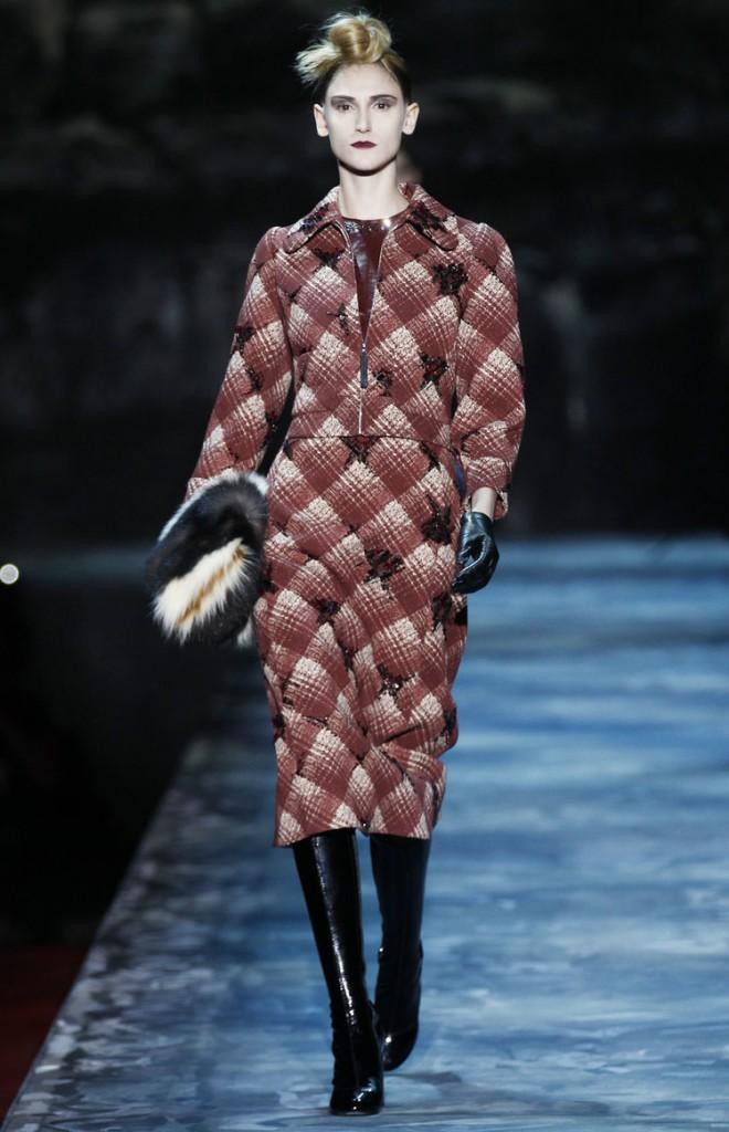 Меховая сумка Marc Jacobs