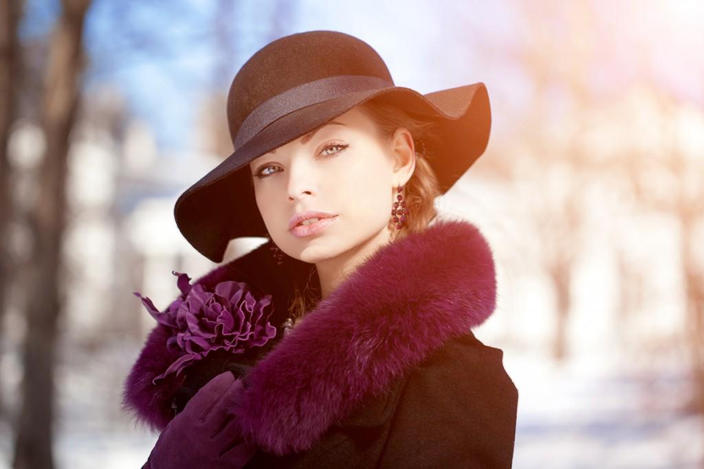 Модные женские шляпы на осень-зиму