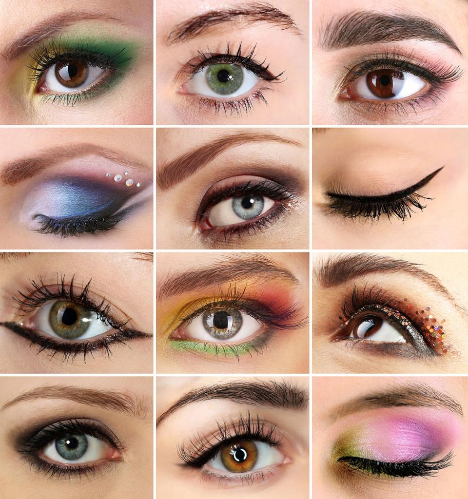 Варианты макияжа глаз