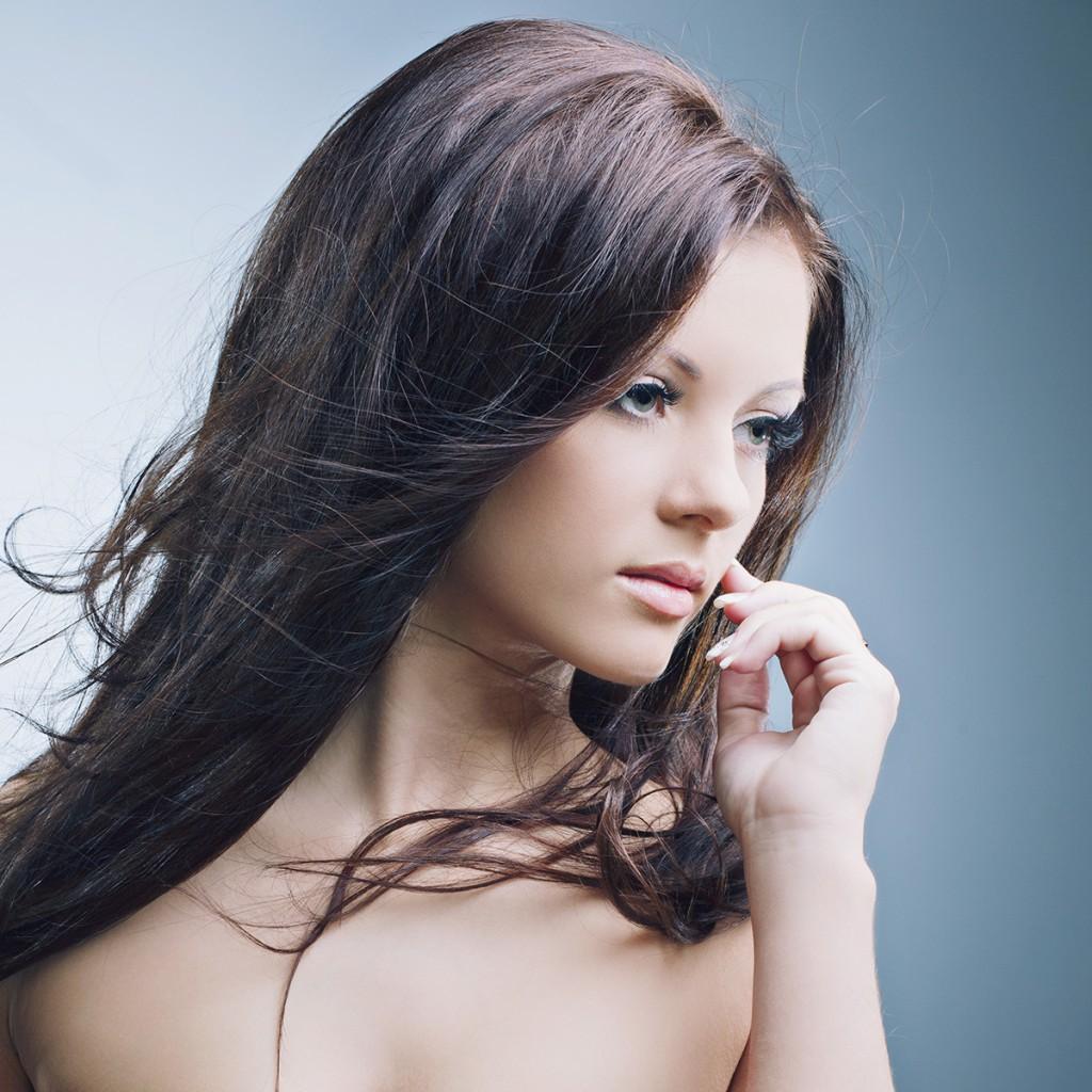 Популярный цвет для брюнеток