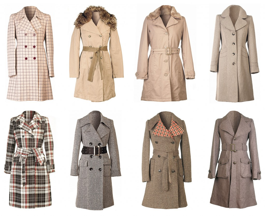 Варианты пальто на осень-зиму