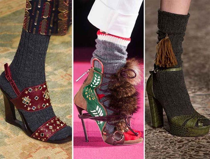 Сапоги похожие на туфли