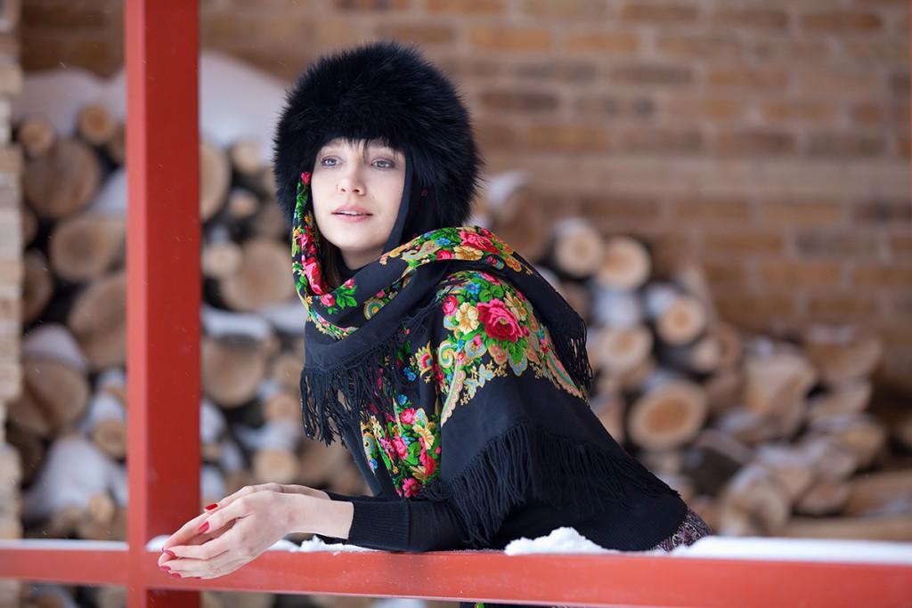 Норковая шапка на зиму 2017