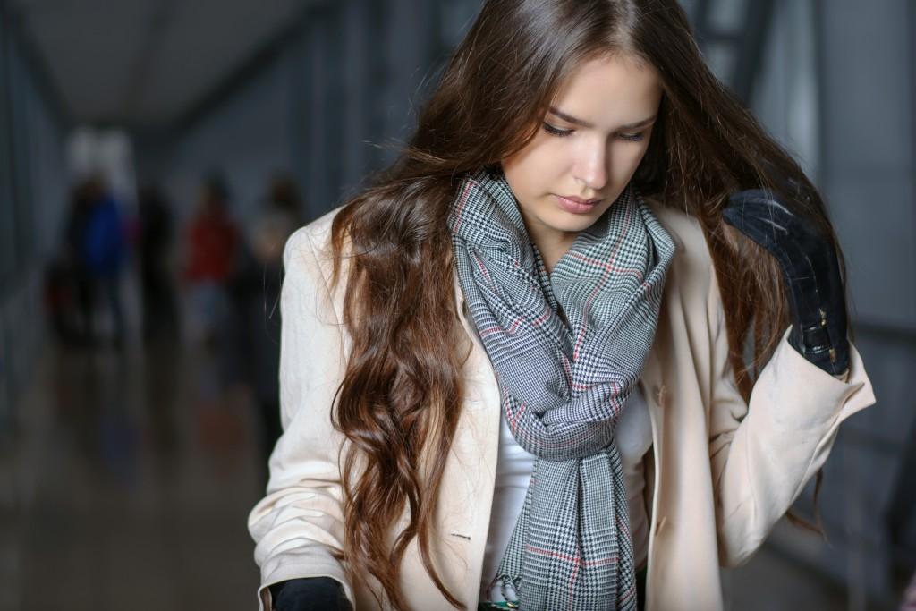 Способ завязать шарф