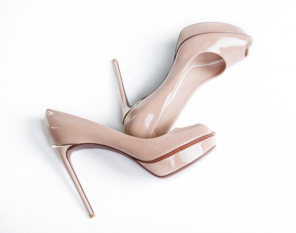 Туфли пастельного оттенка