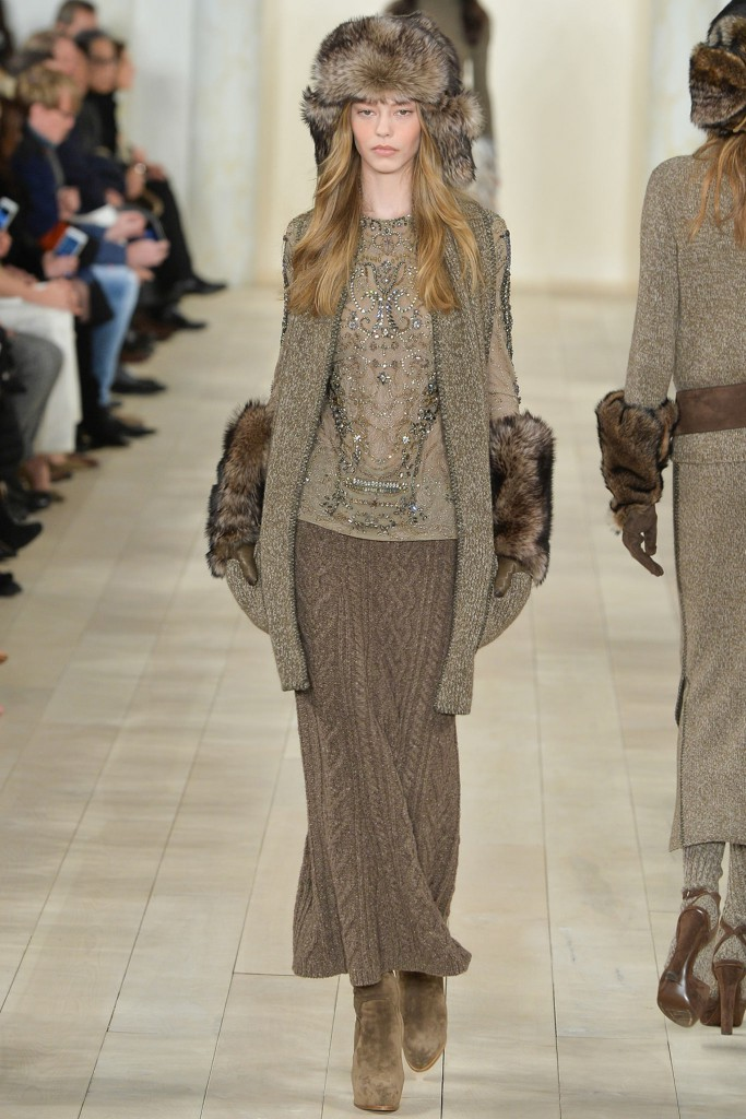 Вязаная юбка Ralph Lauren