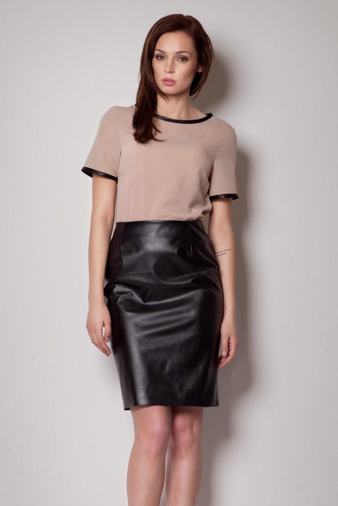 Черная юбка для вечера