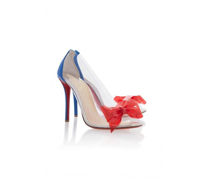 Прозрачные туфли от Christian Louboutin