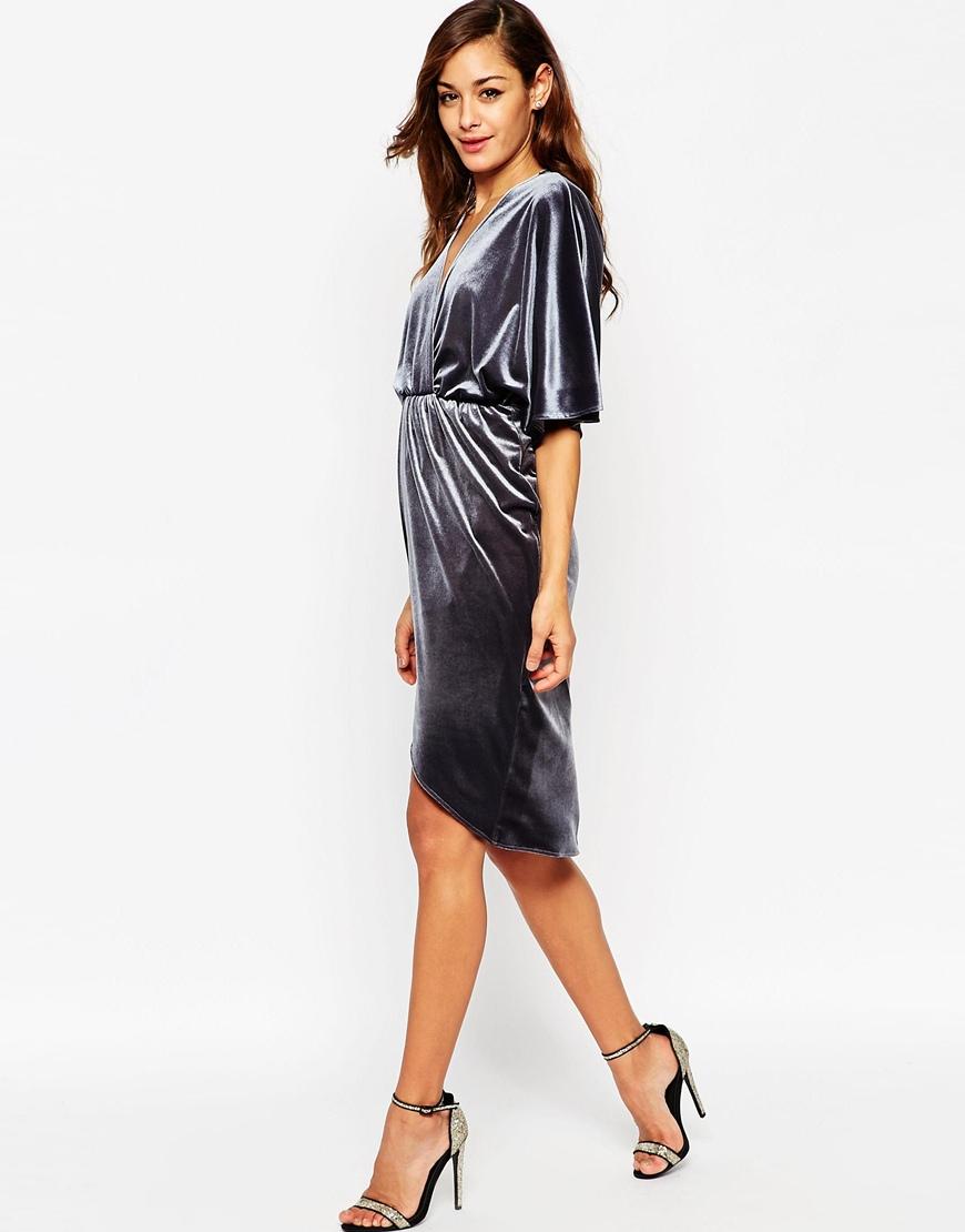 Бархатно шифоновое платье