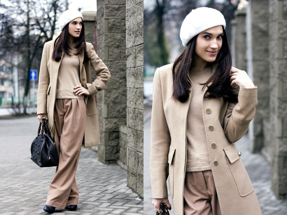 густого картинки пальто с шапкой стиль