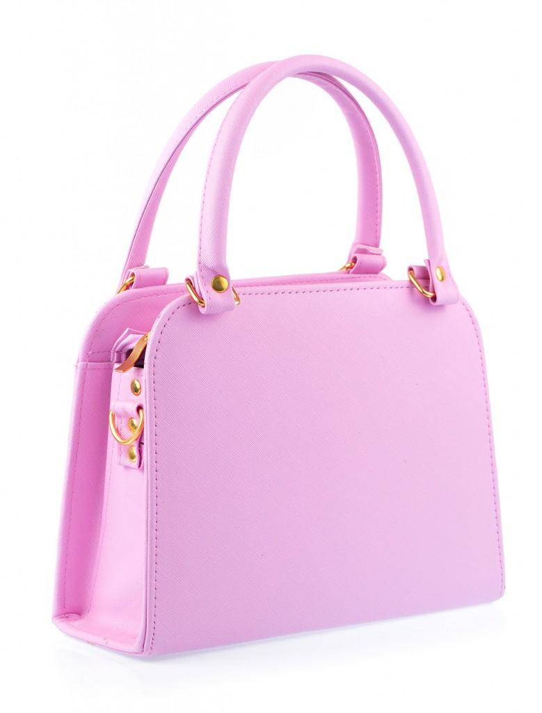 Яркая розовая сумка