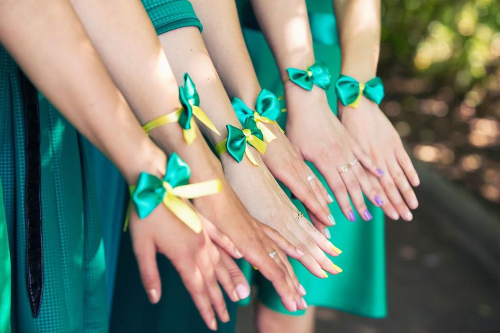 Аксессуары для подружек невесты