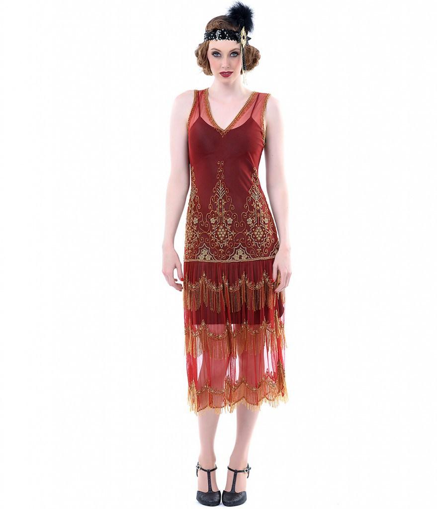 Ретро платье 20 годов