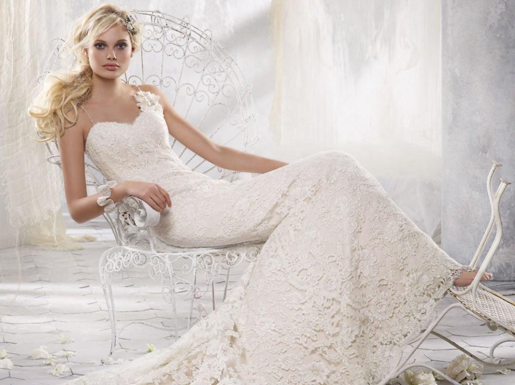 Свадебное платье от Alvina Valenta
