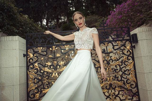 Свадебное платье от Arava Polak