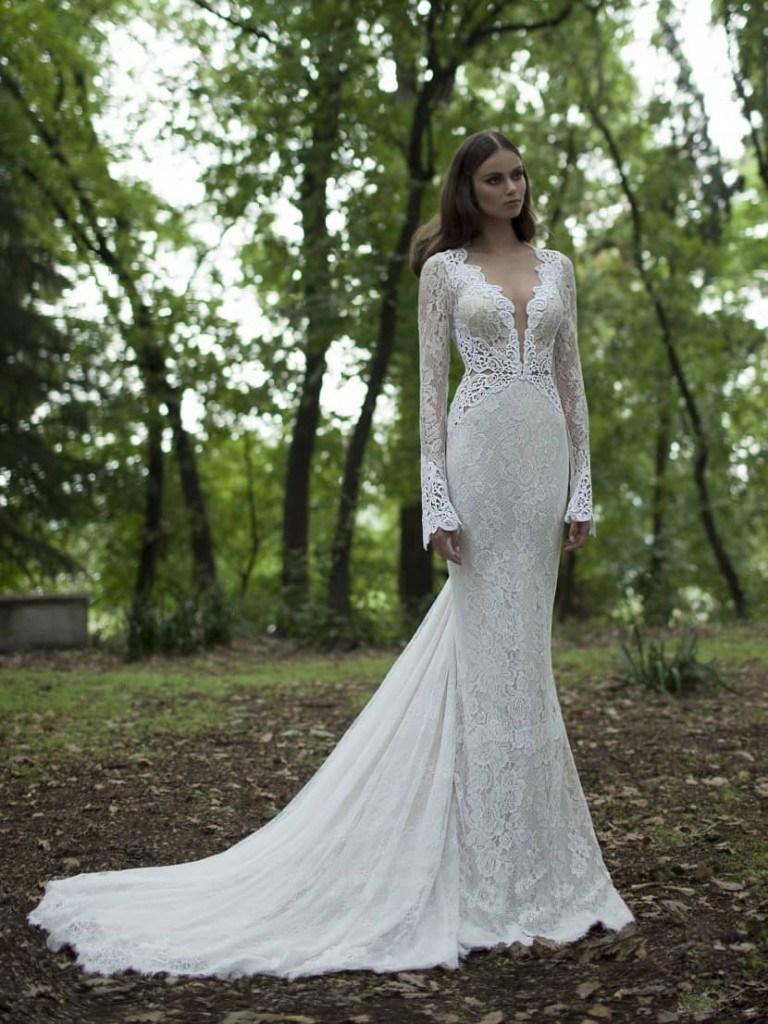 Свадебное платье от Berta Bridal
