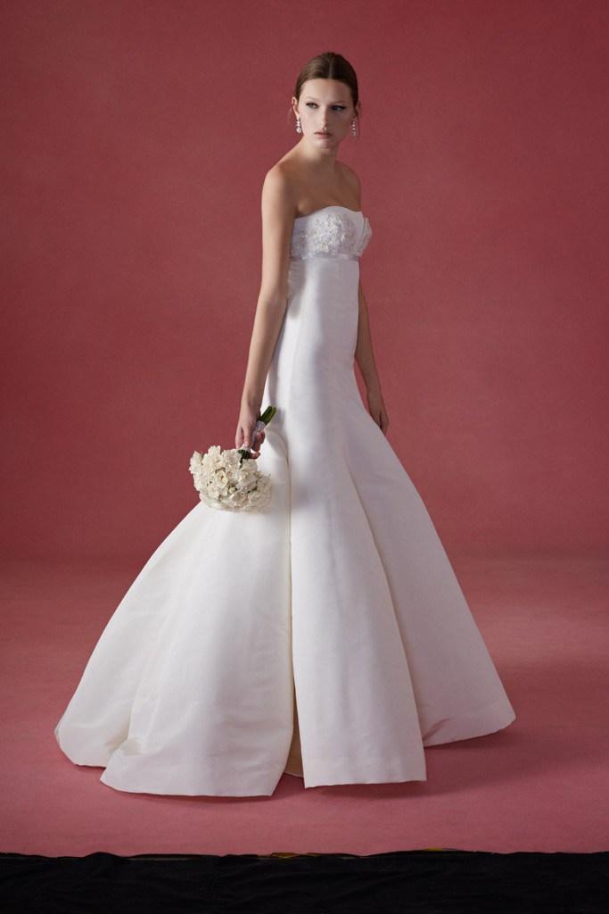 Свадебное платье от Oscar de la Renta