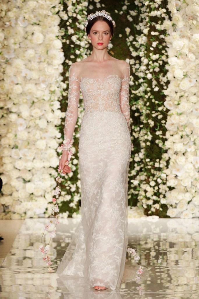 Свадебное платье от Reem Acra