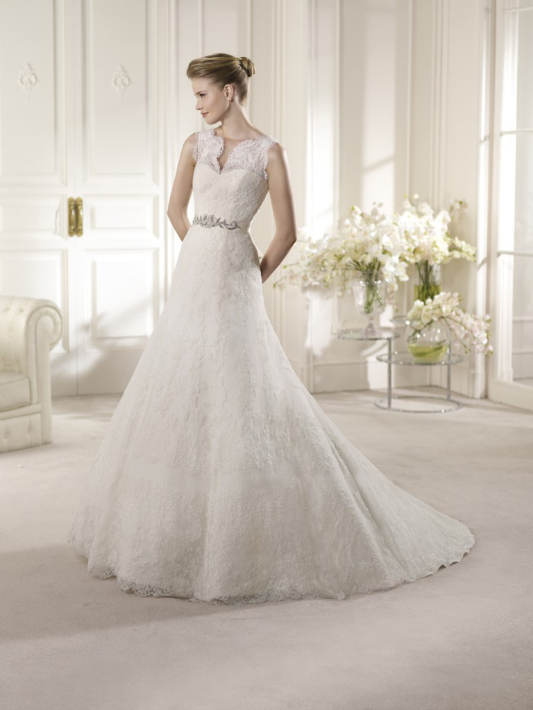 Свадебное платье от San Patrick