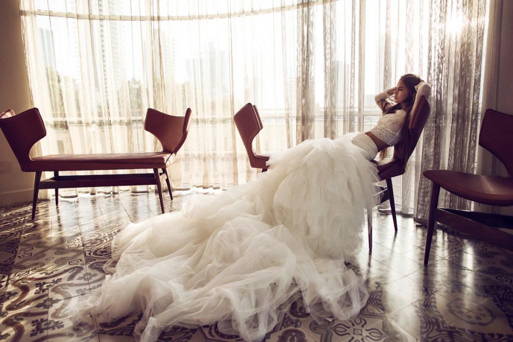 Свадебное платье от Zahavit Tshuba