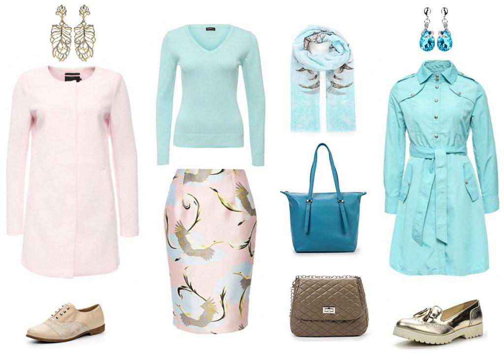 Палитра одежды для цветотипа весна