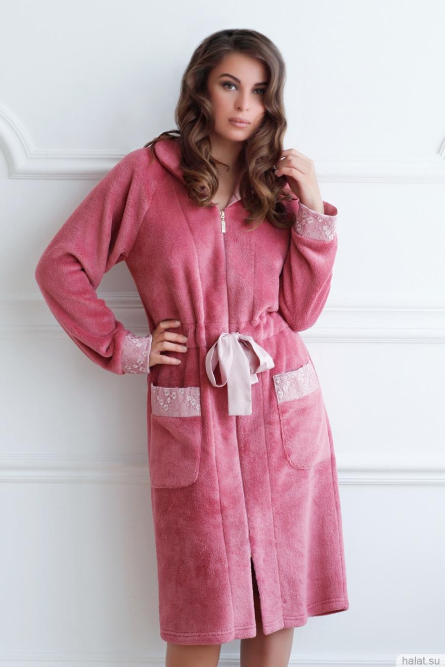 Платье халат для полных женщин 172