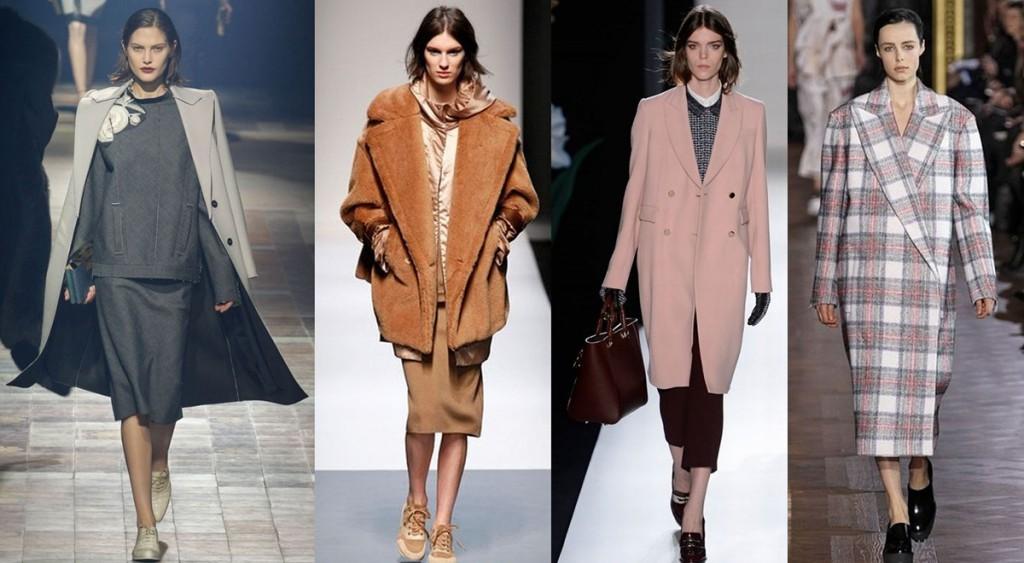 Модные женские пальто и плащи весны 2016