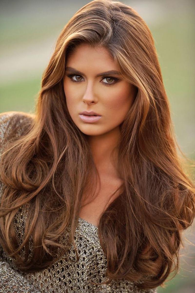 Красивые оттенки волос для русых