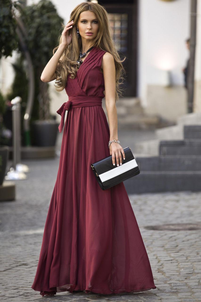 Цвет марсала платья фото