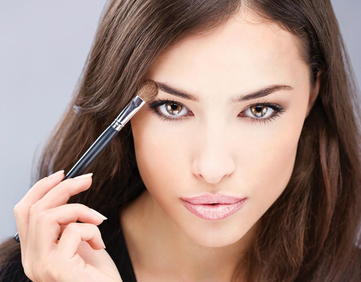 Повседневный макияж пошагово, фото - урок, инструкция от визажиста