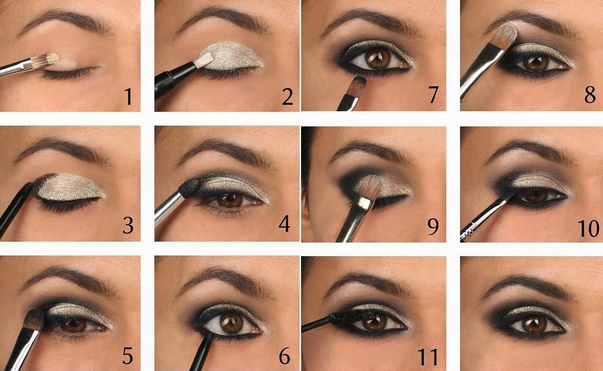 How to apply eye makeup like a professional