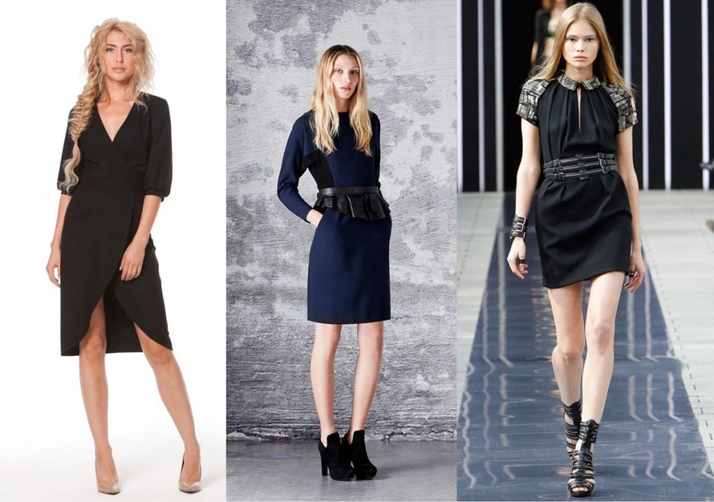 Стильные офисные платья 2018