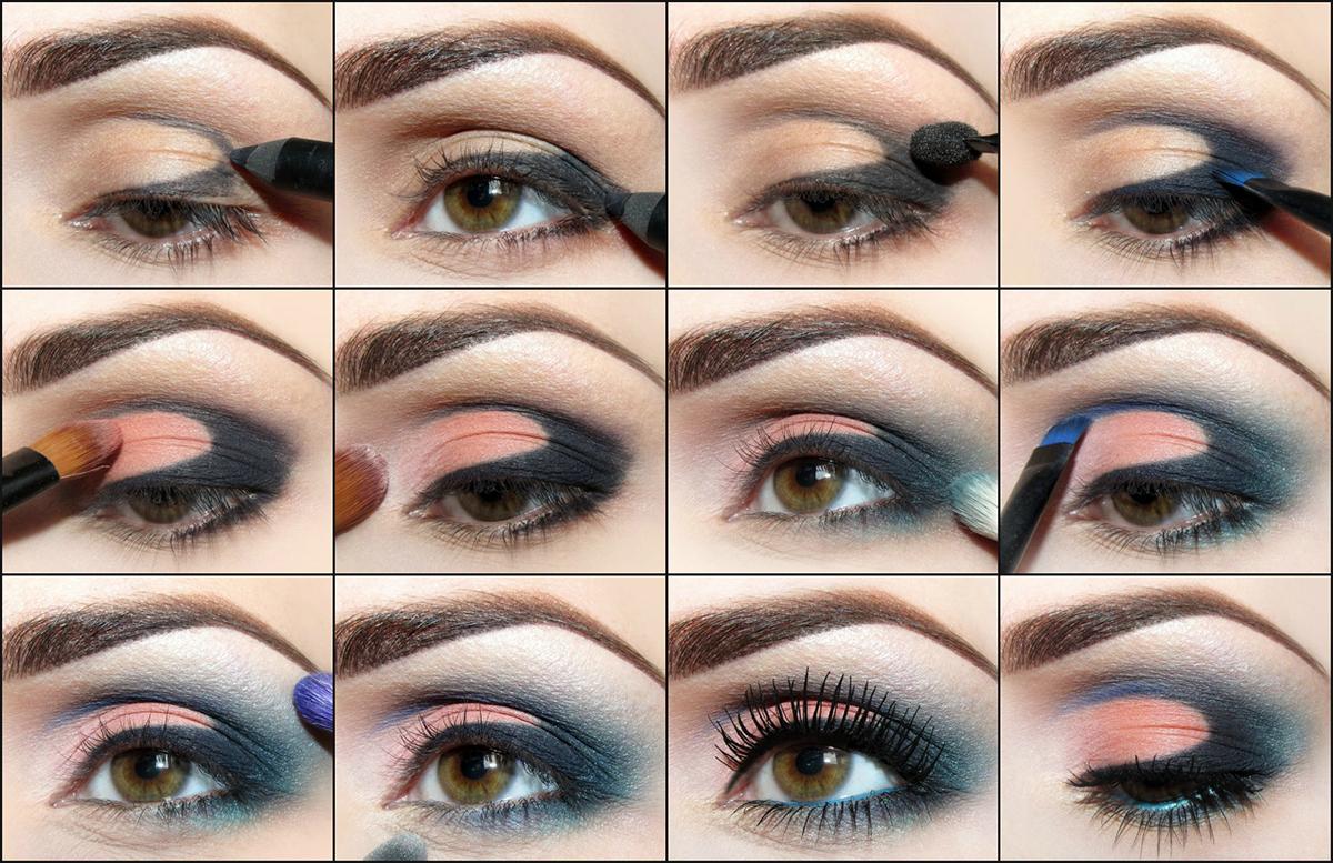 печи пошаговый макияж для карих глаз с картинками это только