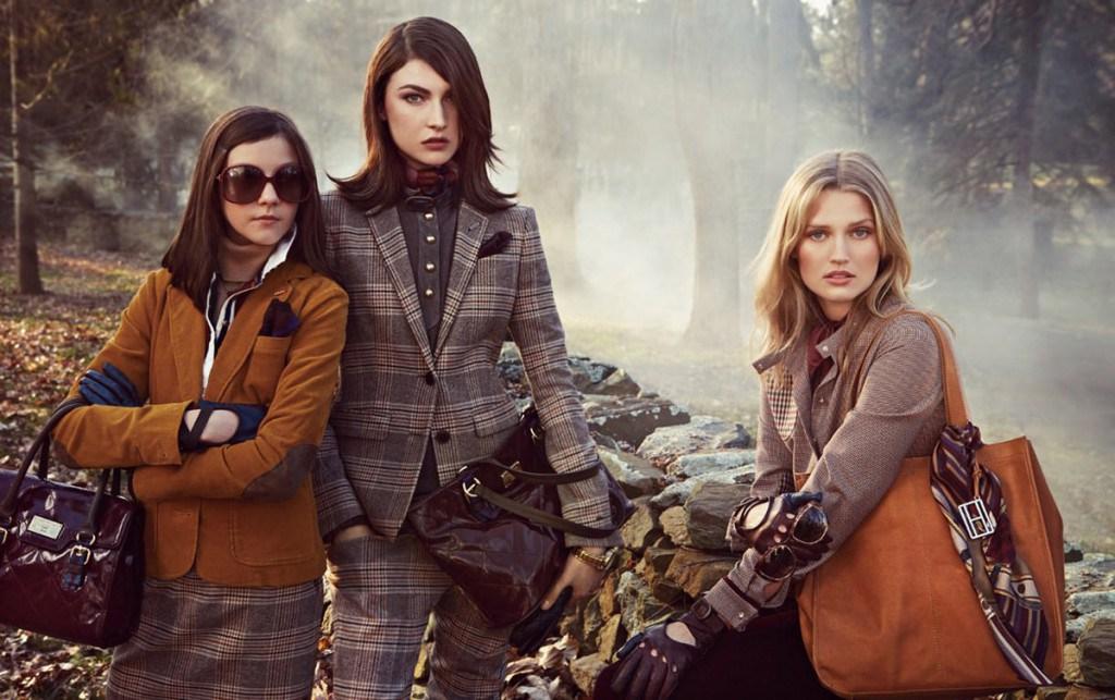 Английский стиль в женской и мужской одежде