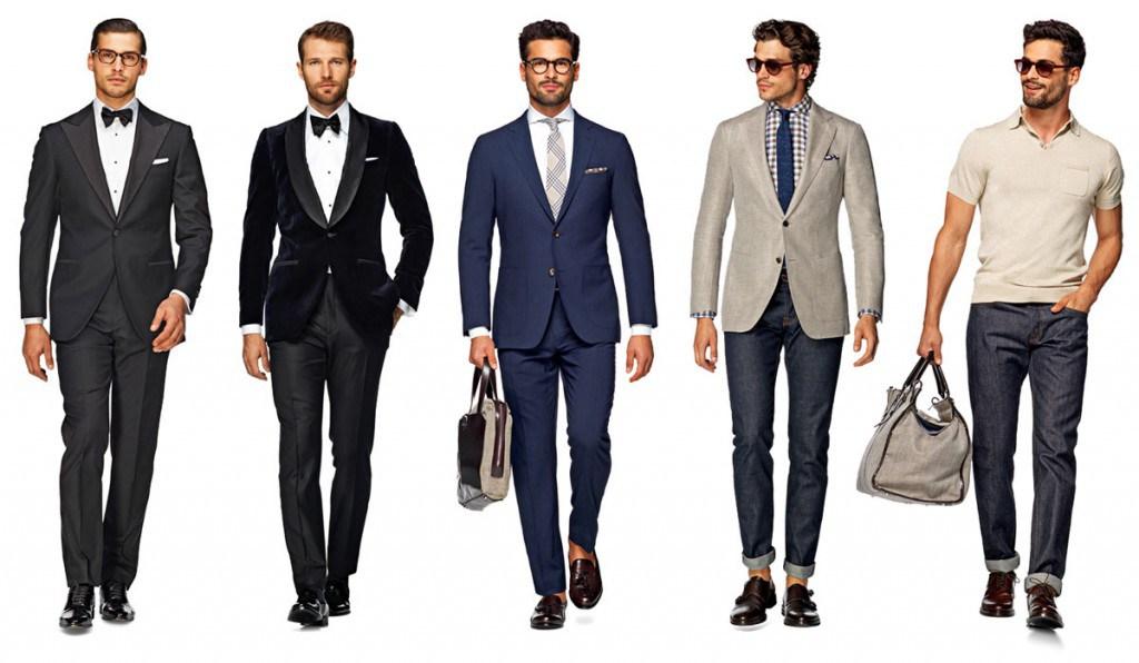 Английский стиль в мужской одежде