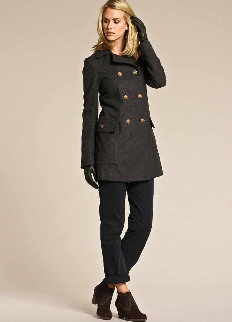 Пальто и обувь в английском стиле