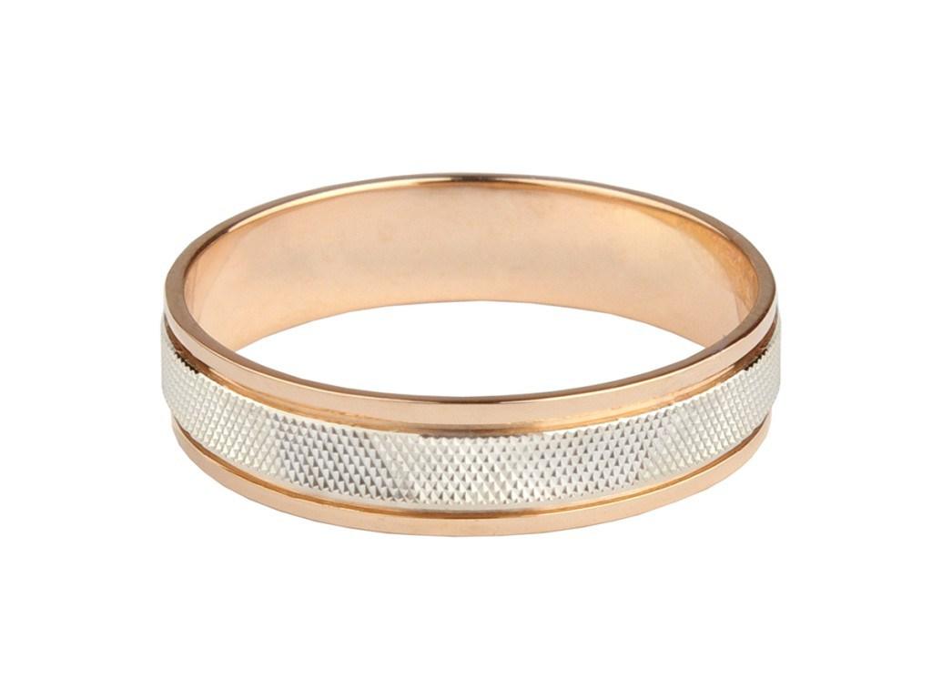 Обручальное кольцо средней ширины без камней