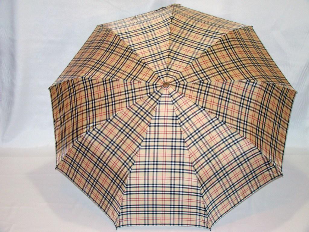 Мужской зонт в клетку