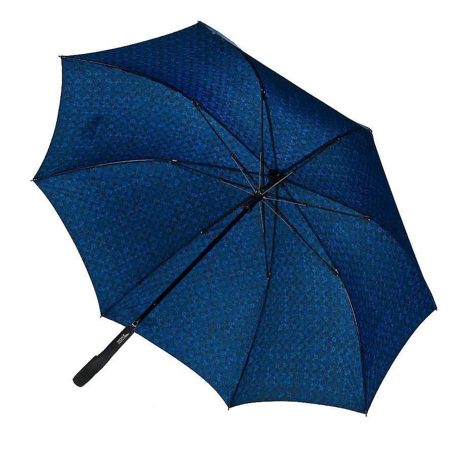 Мужской зонт синий