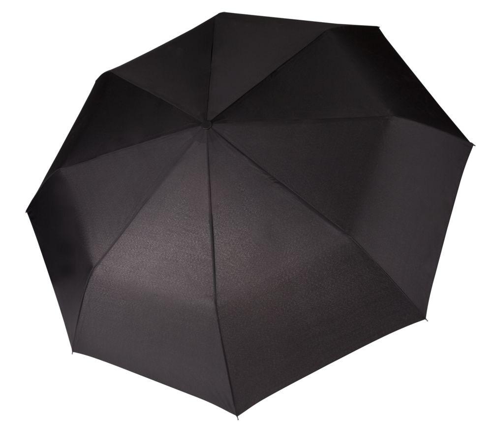 Модный черный мужской зонт
