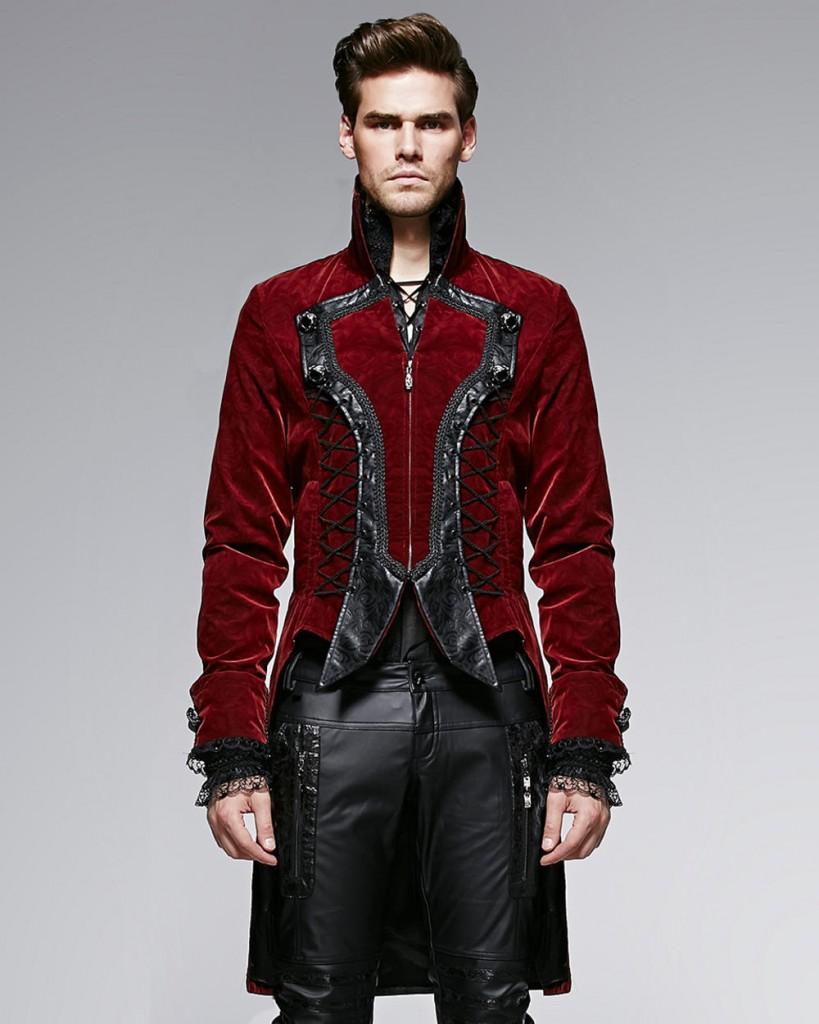 Вампирский стиль для мужчин