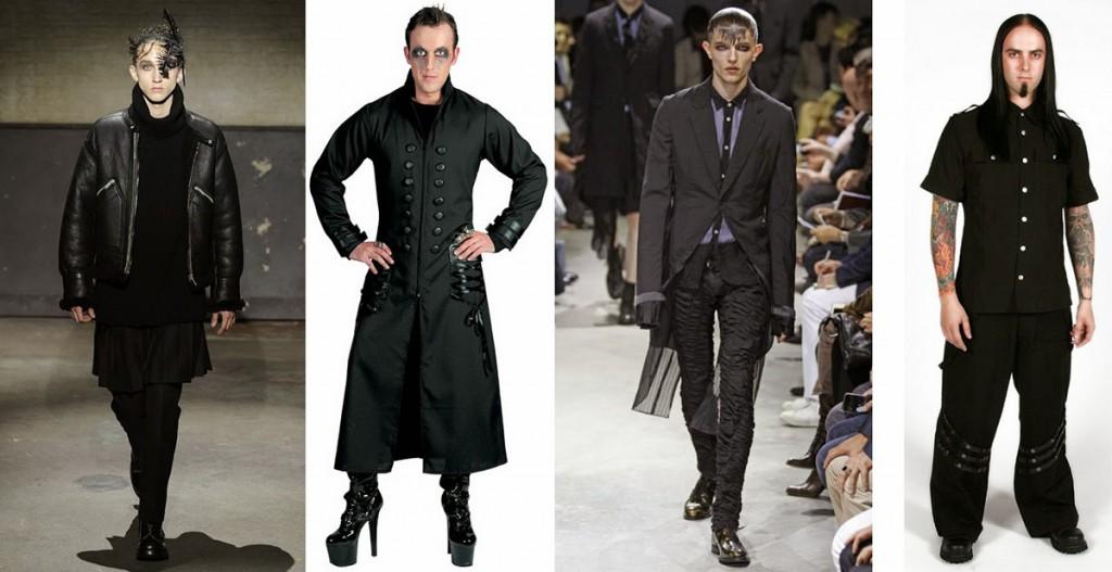 Готическая одежда для мужчин