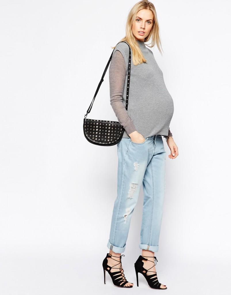 Модные джинсы для беременных