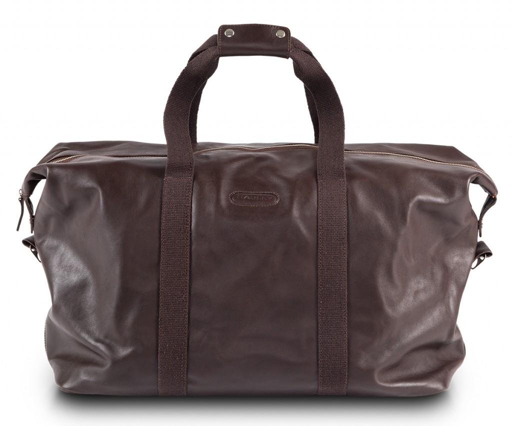 Мужская коричневая дорожная сумка