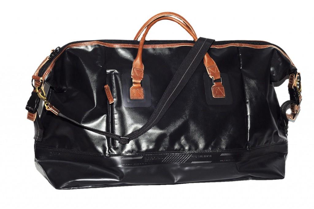 Большая мужская черная сумка
