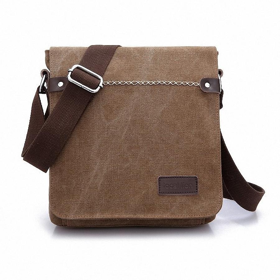 Мужская тканевая сумка почтальона