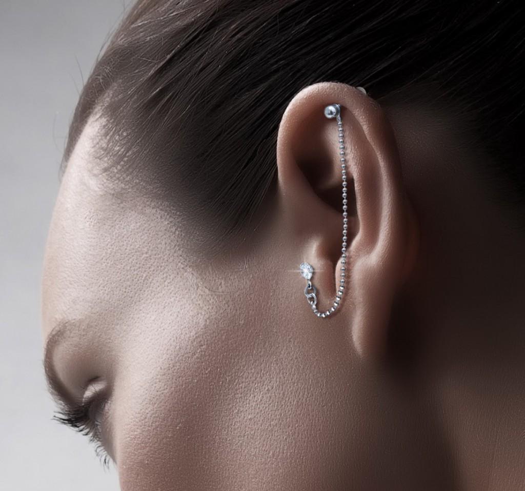 Украшение для прокола ушей