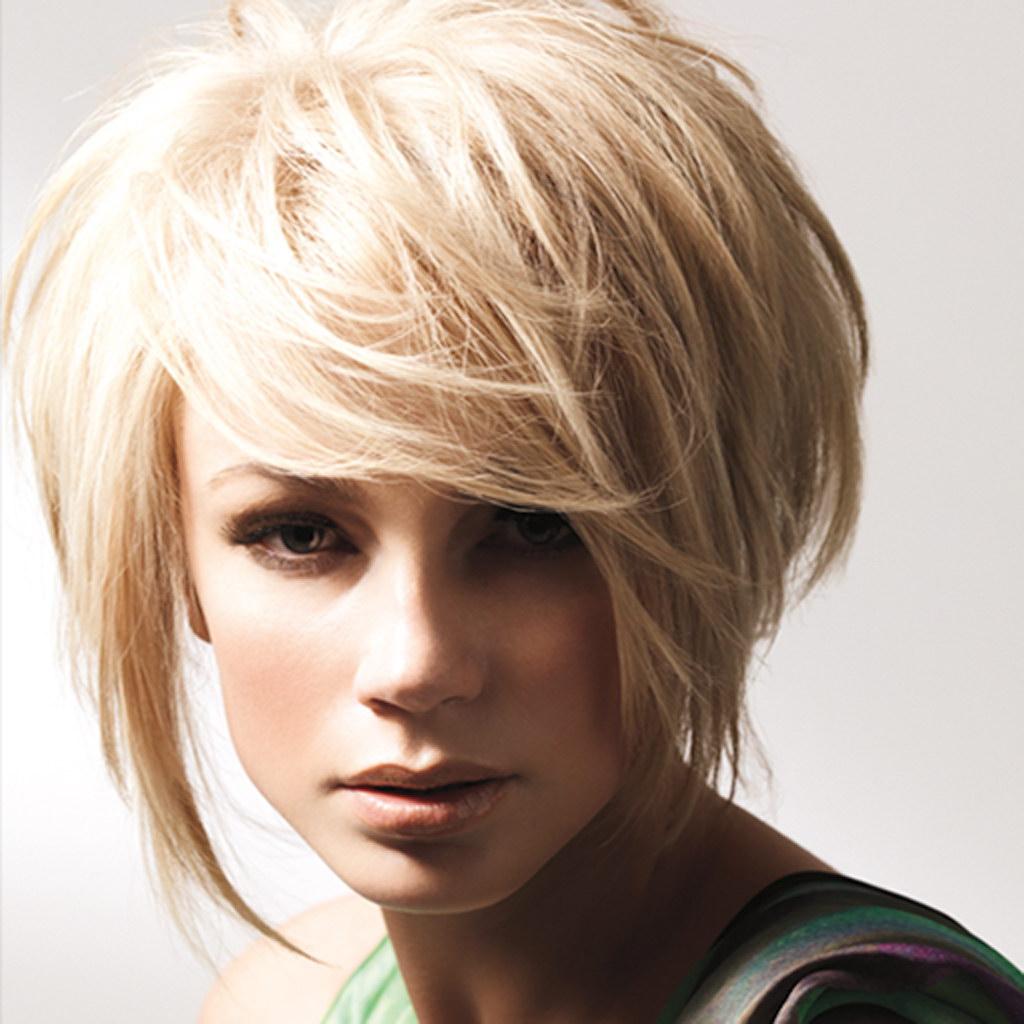 Боб-каре для блондинок