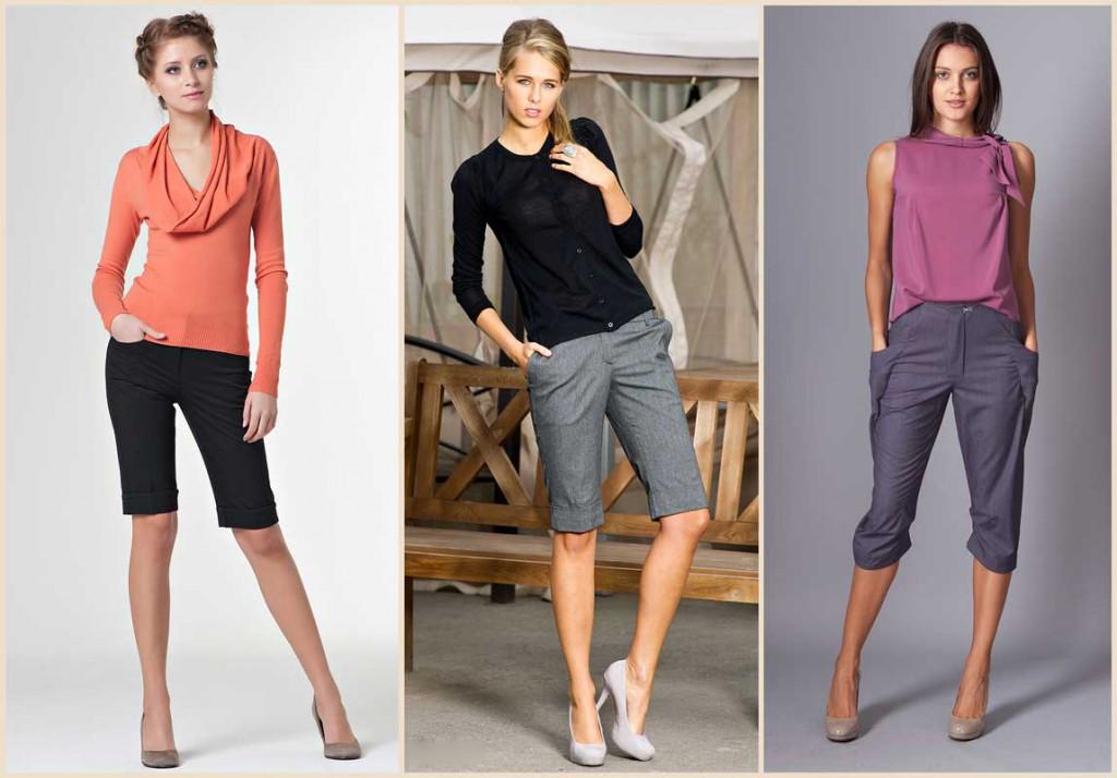 Модные разные бриджи